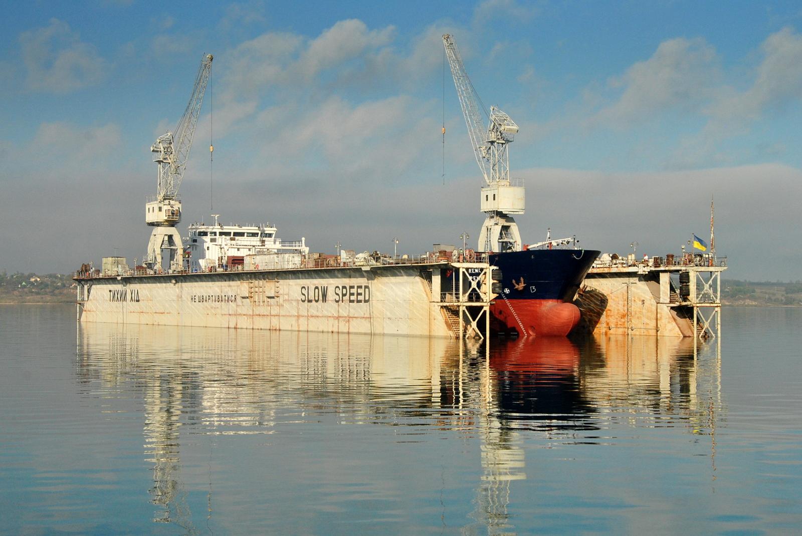 На заводі «Океан» модернізували турецьке судно та подовжили його на 24 метри