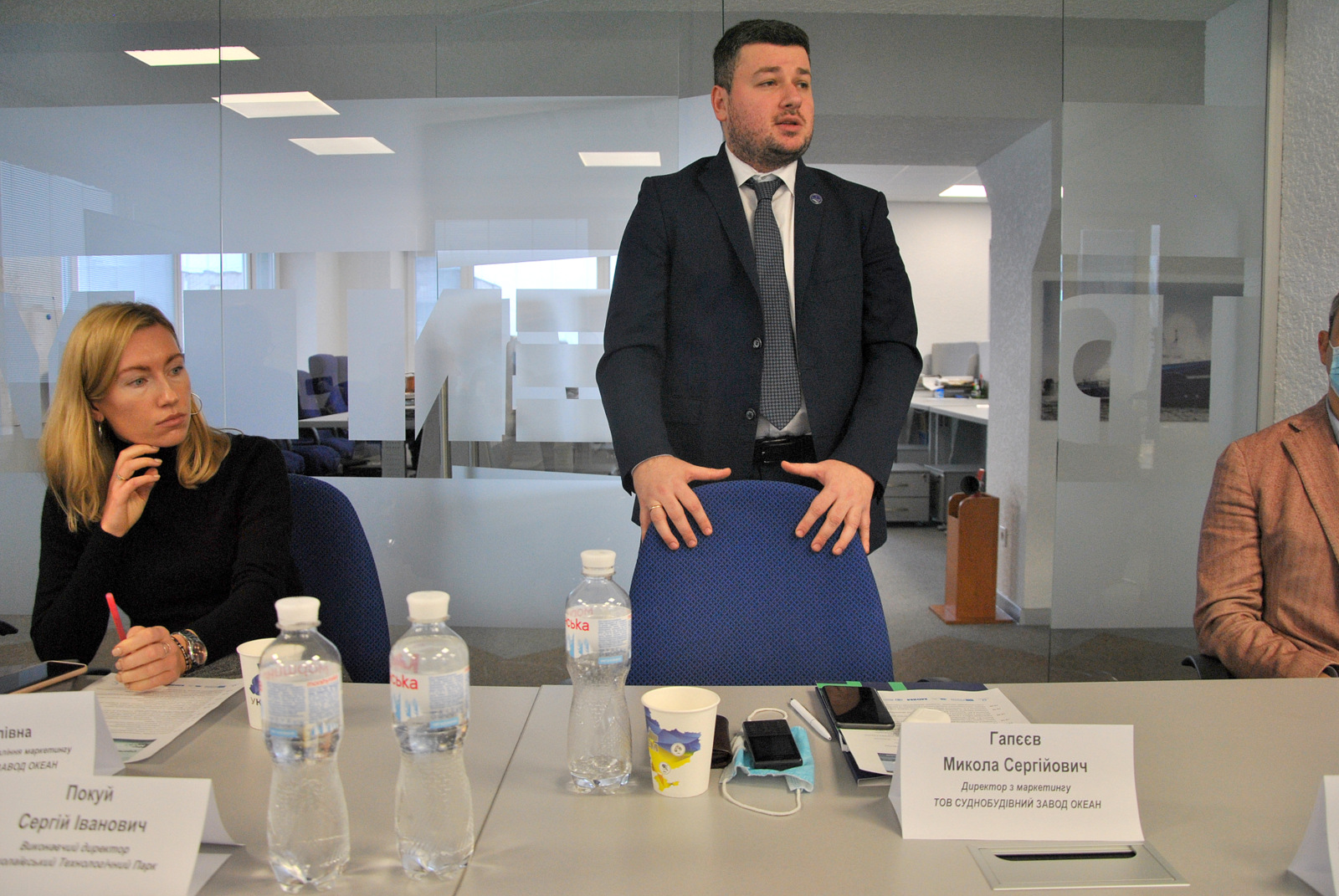 "Суднобудівний завод ""Океан"" – учасник морського кластеру України"