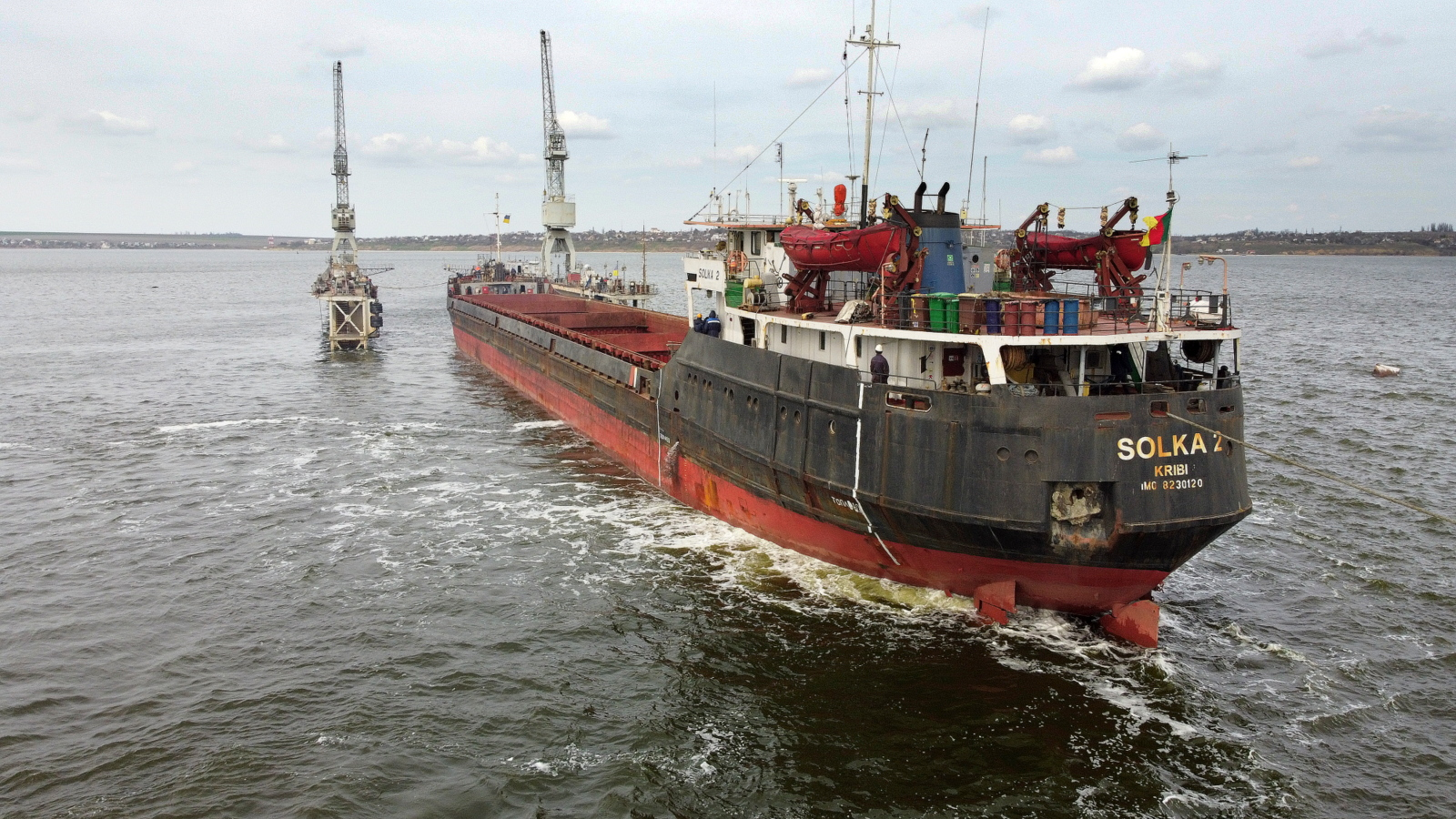 """""""Океан"""" прийняв на ремонт судно SOLKA-2"""