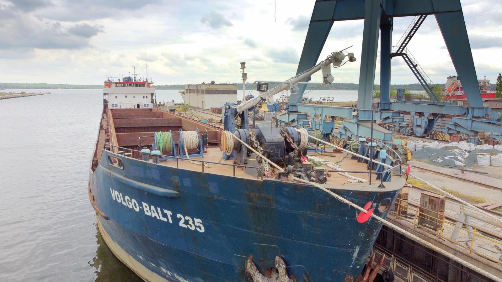 «Океан» принял на ремонт сухогрузное судно «Волго-Балт 235»